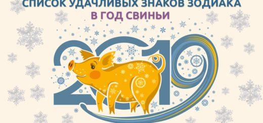 гороскоп удачи на 2019 год
