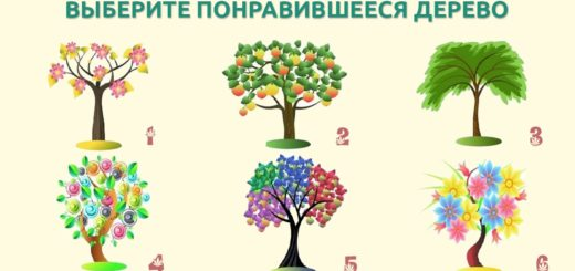 выберите дерево
