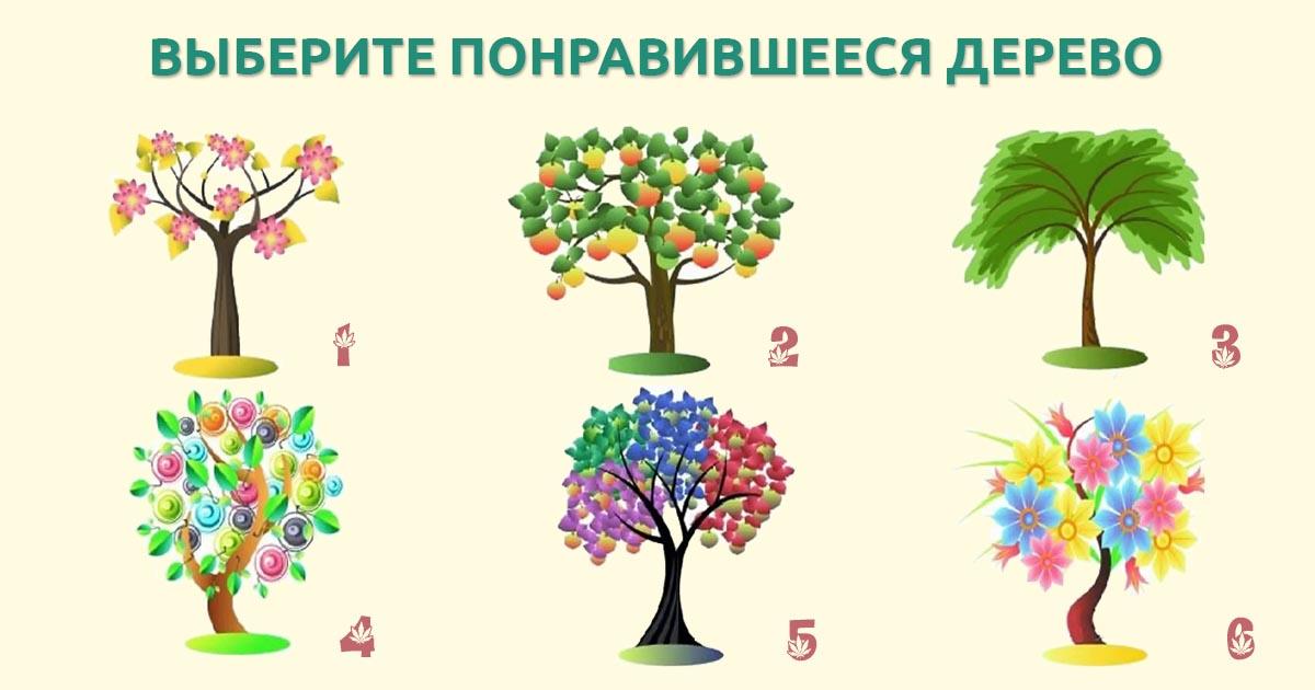 психологические тесты рисунок дерево стала